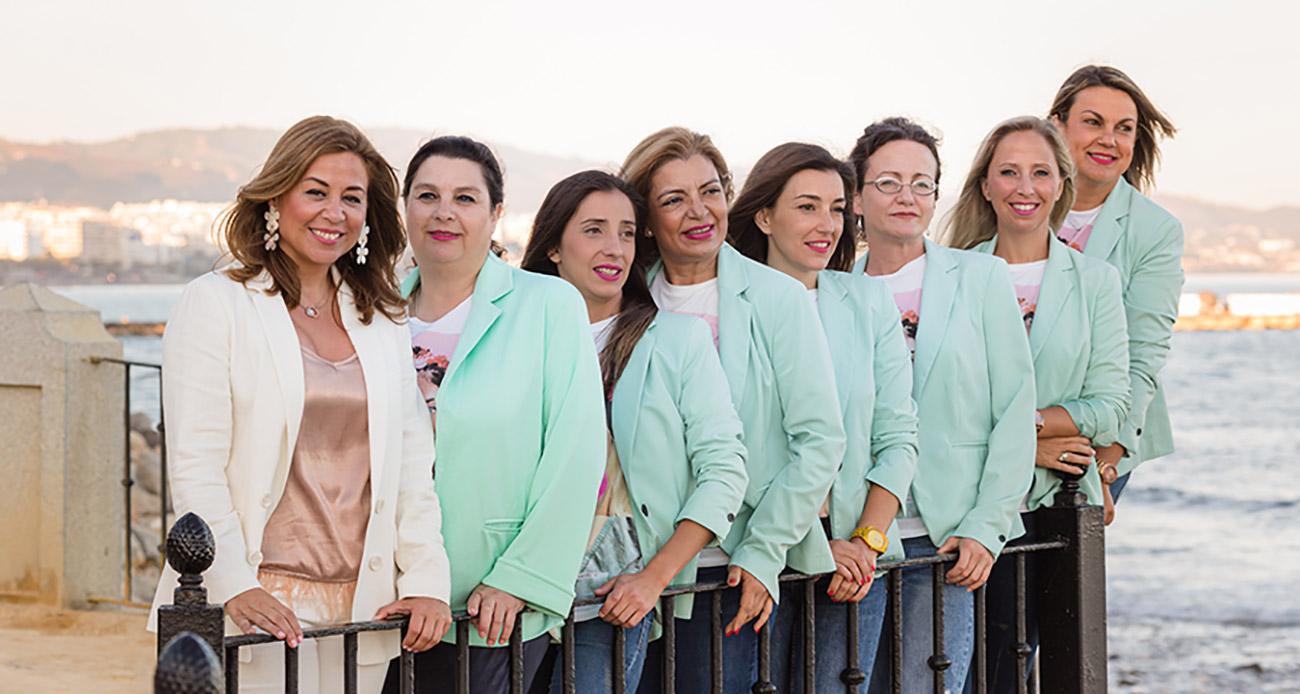 Equipo de trabajo Belen Calleja administracion de fincas Marbella